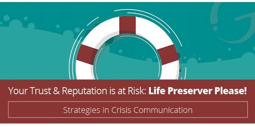 The Impact Group Leadership Academy: CRISIS COMMUNICATION