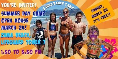 Aloha Beach Camp Open House at Zuma Beach
