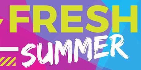 FRESH Summer Workshop 2019 tickets