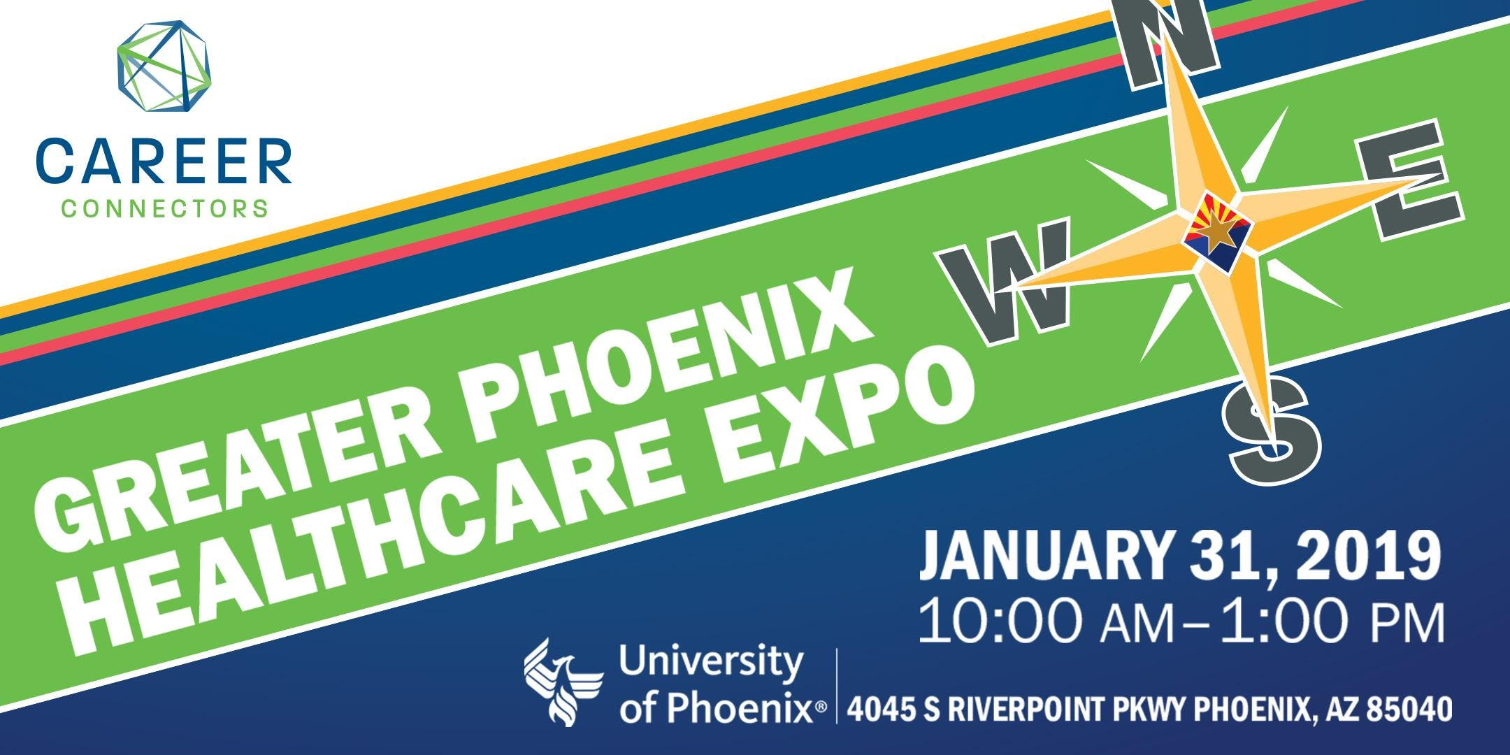 Greater Phoenix Healthcare Career Expo - January 31, 2019