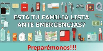 TALLER DE PREPARACIÓN ANTE EL DESASTRE