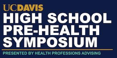 2019 UC Davis High School Pre-Health Symposium