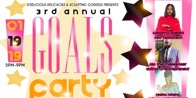 3rd Annual Goals Party (Vision Board)