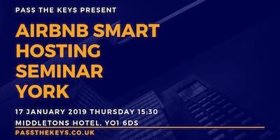 Airbnb Smart Hosting Seminar York