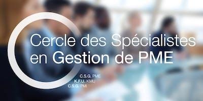 Lancement du CSG-PME