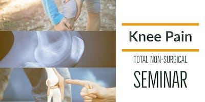 FREE Non-Surgical Knee Pain Elimination Dinner Seminar - Portland / Lake Oswego