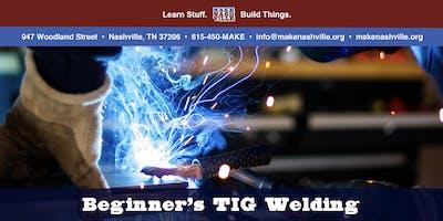 Beginners TIG Welding