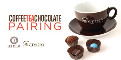 Coffee, Tea & Chocolate Pairing April 12, 2019