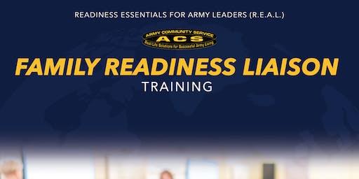 R.E.A.L. Family Readiness Liaison Training