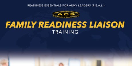 R.E.A.L. Family Readiness Liaison Training tickets