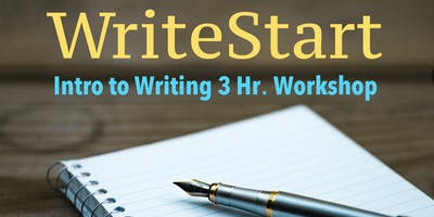 WriteStart Writing Class: Intro to Writing