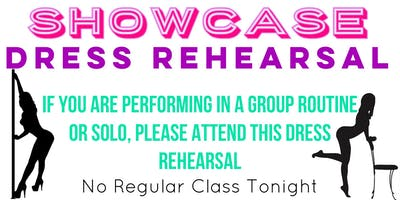 Friday 1/25 — Showcase Dress Rehearsal