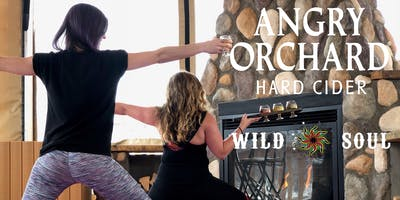 Hot Yoga, Cold Cider at Angry Orchard