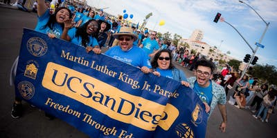 UC San Diego Martin Luther King Jr Parade