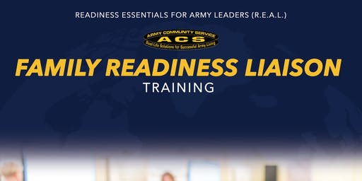 R.E.A.L. Soldier & Family Readiness Liaison Training