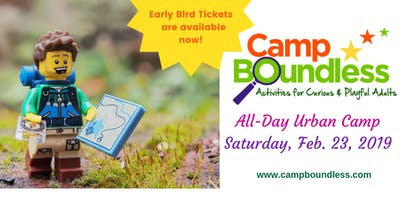 Camp Boundless All-Day Urban Camp (Early Bird Rate)