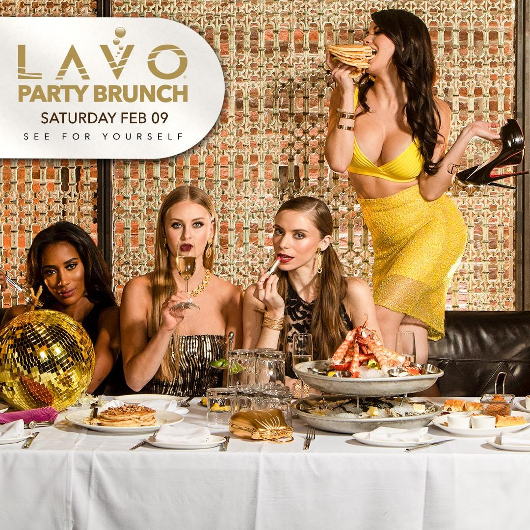 Lavo Party Brunch at Lavo Free Guestlist - 2/