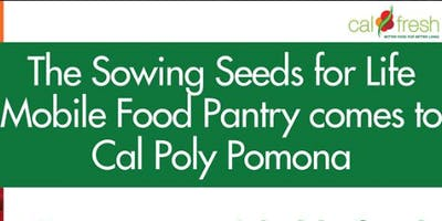 CPP Mobile Food Pantry with Sowing Seeds for Life- Volunteer (on campus) - FEB. 26TH