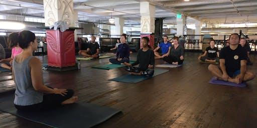 Yoga at Angel City Brewery