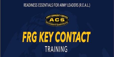 R.E.A.L. Key Contact Training tickets