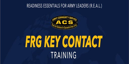 R.E.A.L. Key Contact Training