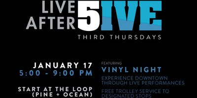 Live After 5ive January: Vinyl Night