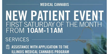 New Patient Event: Illinois Medical Cannabis Card Assistance tickets