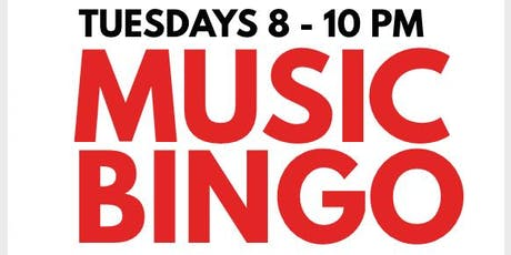 MUSIC BINGO! at BURGERS & BARLEY - ROCK HILL tickets