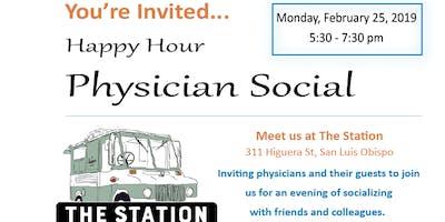 San Luis Obispo Happy Hour Physician Social 2.25.19