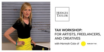 Tax Workshop: For Artists, Freelancers, and Creatives