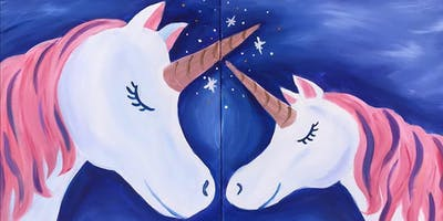 Mommy and Me Magical Unicorn Painting Event