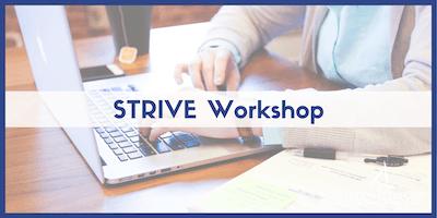 STRIVE Workshops 2019