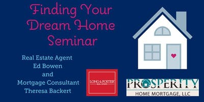 Finding Your Dream Home Seminar