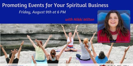 Promoting Events for Your Spiritual Business tickets