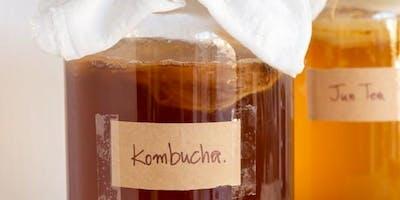Kombucha, Kefir & Gut health