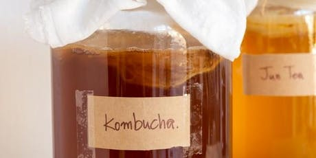 Kombucha, Kefir & Gut health  tickets