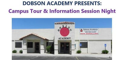 Dobson Academy Campus Tour and Information Session Night