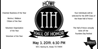 The 2019 Howe Hall of Honor and Awards Ceremony