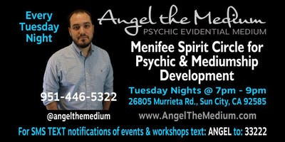 Menifee Spirit Circle for Psychic & Mediumship Development