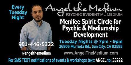 Menifee Spirit Circle for Psychic & Mediumship Development tickets