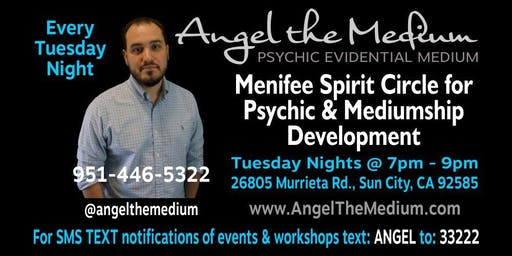Menifee Spirit Circle for Psychic & Mediumship Development