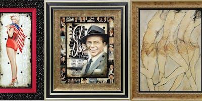 Bill Mack and Gary Welton Art Show