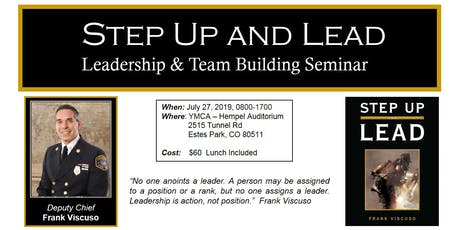 Step Up and Lead Seminar - Frank Viscuso tickets