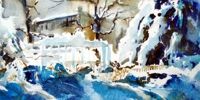 Drawing Winter Landscapes with Kevin Kuhne