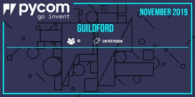 Guildford Pycom World Series 2019 Hackday Event