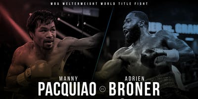 D&B Capitol Heights, Maryland - Manny Pacquiao vs Adrien Broner 2019