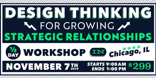 Design Thinking for Growing Sales and Key Accounts, 1/2-Day – Nov 2019