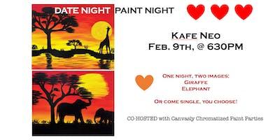 Kafe Neo: DATE NIGHT PAINT NIGHT