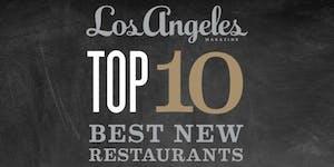 Los Angeles magazine's Best New Restaurants...