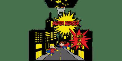 2019 Super Heroes Day 1 Mile, 5K & 10K - Wichita